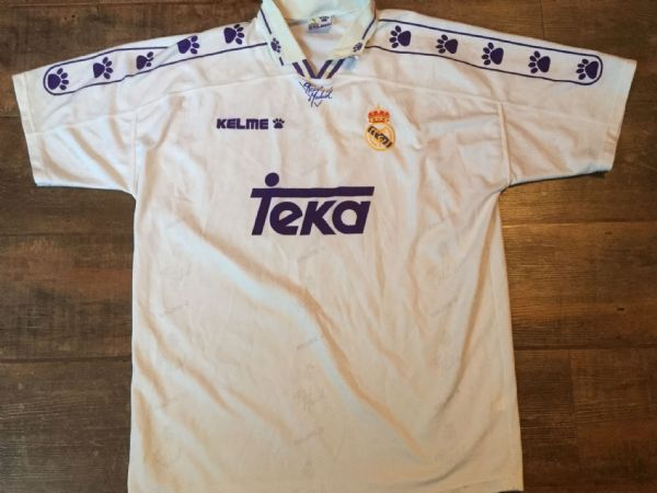 1994 1996  Real Madrid Home Football Shirt Adults XL